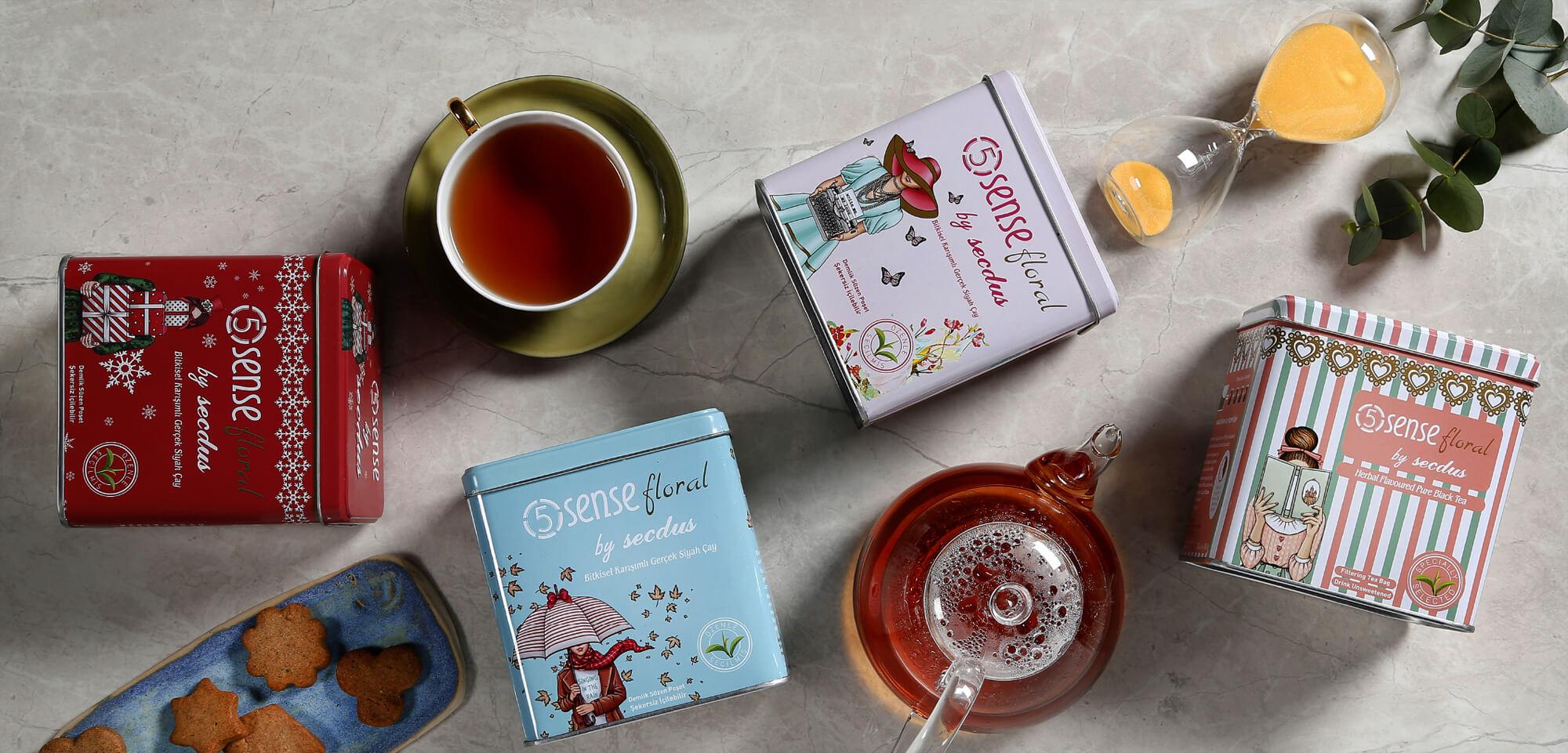 5 Sense Çayları